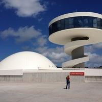 Photo taken at Oscar Niemeyer International Cultural Centre by hhsantos on 8/25/2012