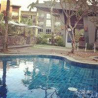Photo taken at Novotel Palembang Hotels & Residence by Pandu P. on 4/27/2012