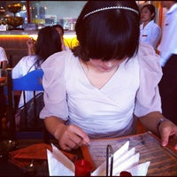 Photo taken at Mooon Cafe by Kim, sung-hee _. on 9/7/2012