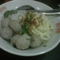Photo taken at Mie Baso Mas Ary Solo by Eric F. on 6/16/2012