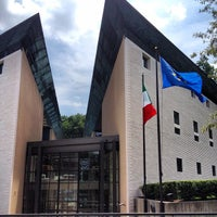 Photo taken at Embassy of Italy by Rob on 8/3/2012