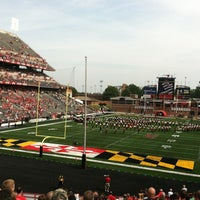 Photo taken at Capital One Field at Maryland Stadium by Jennifer S. on 9/1/2012