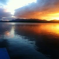 Photo taken at fern lake by Sara M. on 9/10/2012