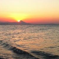 Photo taken at Vlastos beach by Stelios K. on 7/14/2012