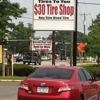 Photo taken at Tires To You $30 Tire Shop by Lainie C. on 5/5/2012