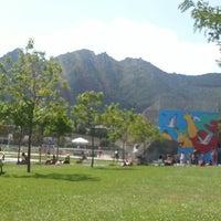 Photo taken at Camping Iratxe - Ciudad de Vacaciones by Olga I. on 8/12/2012