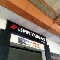Photo taken at Stasiun Lempuyangan by Syahrizal H. on 4/7/2012