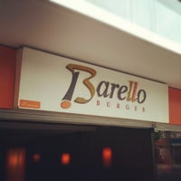 Photo taken at Barello Burger by Ricardo C. on 2/12/2012