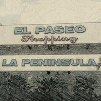 Photo taken at El Paseo Shopping by David V. on 8/21/2012