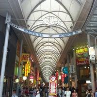 Photo taken at Hiroshima Hondori Shotengai by Masatsugu I. on 4/30/2012