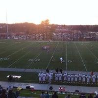 Photo taken at Joe Walton Stadium by Dan S. on 3/27/2012
