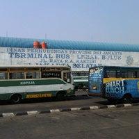 Photo taken at Terminal Lebak Bulus by Pupu N. on 9/9/2012