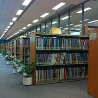 Photo taken at Tsing Yi Public Library 青衣公共圖書館 by Nuey Nuey's on 6/13/2012