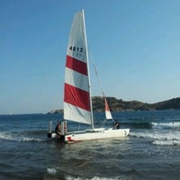 Photo taken at Hilton Water Sports by Mehmet Kağan on 7/11/2012