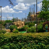 Photo taken at Congo River Miniature Golf by TerrAnce D. on 6/2/2012