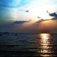 Photo taken at Wonnapa Beach by Namz B. on 3/2/2012