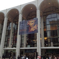 Photo taken at American Ballet Theatre at the Metropolitan Opera House by Maribel M. on 5/22/2012