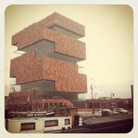 Photo taken at MAS I Museum aan de Stroom by Carlos on 6/13/2012