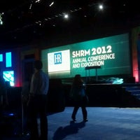Photo taken at #SHRM12 Annual Conference & Exposition (SHRM) by Hillary A. on 6/26/2012