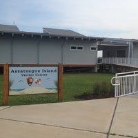 Photo taken at Assateague Visitor Center by Rex C. on 7/18/2012