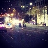 Photo taken at La Trobe Street by Daniel M. on 6/12/2012