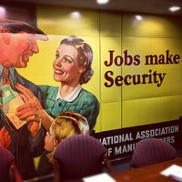 Photo taken at National Association of Manufacturers by Nick W. on 2/27/2012