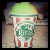 Photo taken at Rita's Ice Custard Happiness by Jasmine L. on 7/10/2012