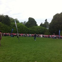 Photo taken at Race For Life by Rebecca S. on 6/20/2012