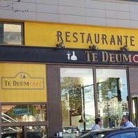 Photo taken at Te Deum Cafe by Clara S. on 9/13/2012
