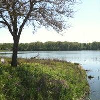 Photo taken at Stricker's Pond Park by Jake S. on 5/10/2012