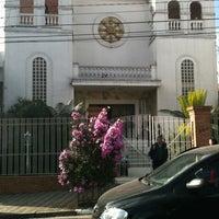 Photo taken at Comunidade Budista Nitirensyu do Brasil by Leonardo O. on 7/15/2012
