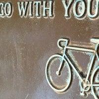 Photo taken at Minuteman Commuter Bikeway by studiomimi on 4/16/2012