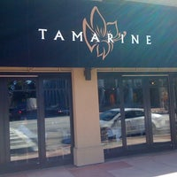 Photo taken at Tamarine Restaurant by citieguy on 2/23/2012