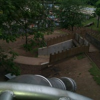 Photo taken at top of the slide by Gavin B. on 8/23/2012
