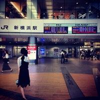 Photo taken at Shin-Yokohama Station by カズユキ ヨ. on 8/25/2012