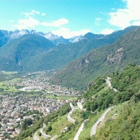 Photo taken at Pianazzola (Chiavenna) by Geert D. on 7/21/2012