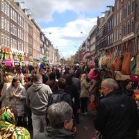 Photo taken at Albert Cuyp Markt by melinda V. on 5/12/2012