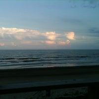 Photo taken at Galveston West Bay by Jo P. on 6/9/2012