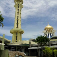 Photo taken at State Mosque (Masjid Negeri) by M. J. on 7/25/2012
