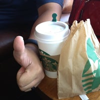 Photo taken at Starbucks by Monica Z. on 6/25/2012