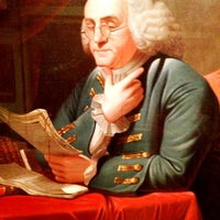 Photo taken at Benjamin Franklin by Drew N. on 4/14/2012