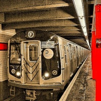 Photo taken at MTA Subway - Parsons Blvd (F) by David D. on 8/28/2012