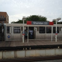Photo taken at CTA - Sheridan by Craig S. on 7/22/2012