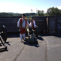 Photo taken at FORT WILLIAM HENRY CORPORATION, THE by Michael on 9/5/2012