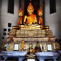 Photo taken at Wat Phichaiyatikaram by Su P. on 6/23/2012