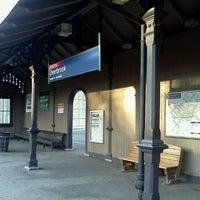 Photo taken at SEPTA Overbrook Station by Trevor L. on 4/7/2012