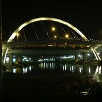 Photo taken at Bridge @ Punggol Walk by Rick on 3/25/2012