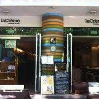 Photo taken at laCrème Restaurant by Friederich L. on 4/7/2012