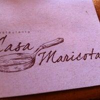 Foto tirada no(a) Restaurante Casa Maricota por Gustavo S. em 3/12/2012