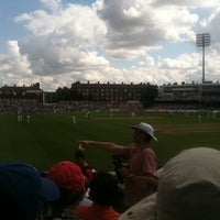 Photo taken at The Kia Oval by Richard T. on 7/21/2012